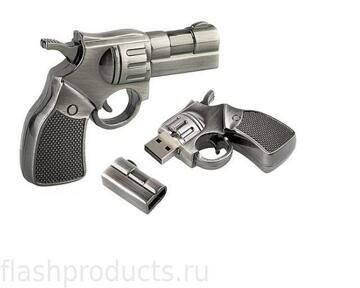 Revolver Gun Flash